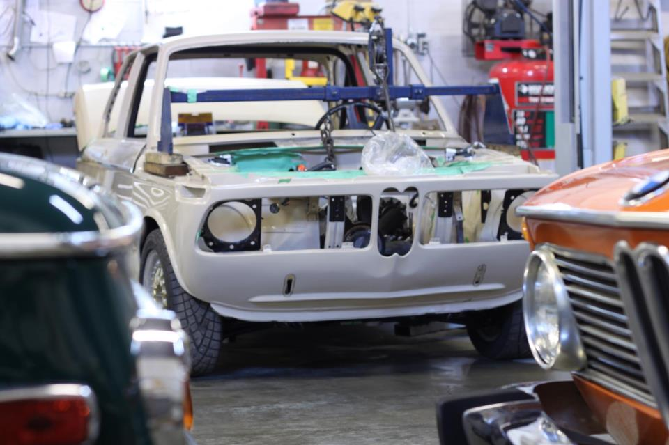 "BMW 2002 Total Motor Werkes ""M2"" and BMW 2002 INKA restoration"