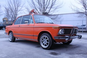 1973 BMW 2002 in Inka