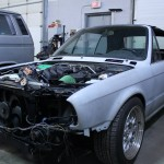 E30 Convertible M20 Stroker Project Front