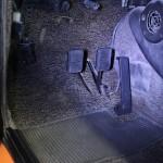 BMW 2002 INKA Full Restoration pedals