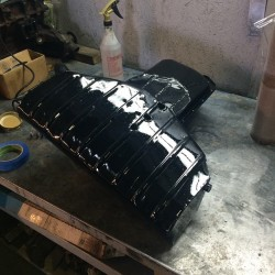 Completed S14 Oil Pan for the M2, Completely Fabricated In Shop at Total Motor Werkes