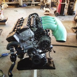 S14 being assembled prior to final installation into the 'M2'
