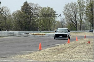E28 535i on the new Mosport DDT track