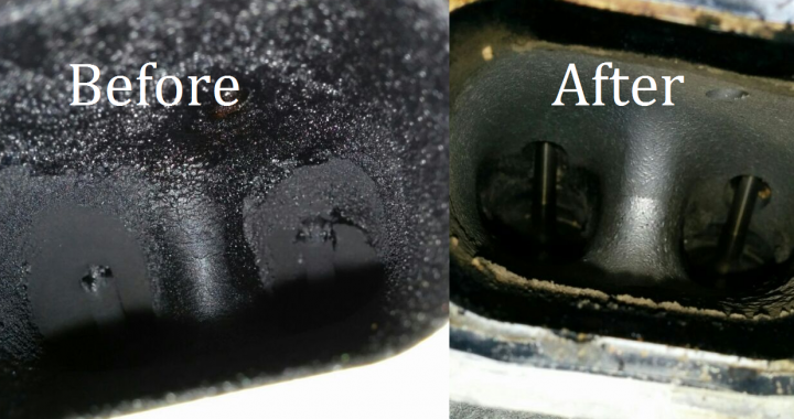 N54 Walnut Blasting Preventative Maintenance With