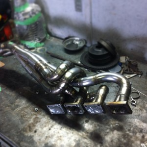 Total Motor Werkes custom fabricated S14 header