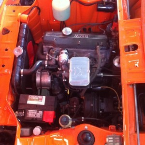 Total Motor Werkes Fully Restored 2002 Inka Engine Bay