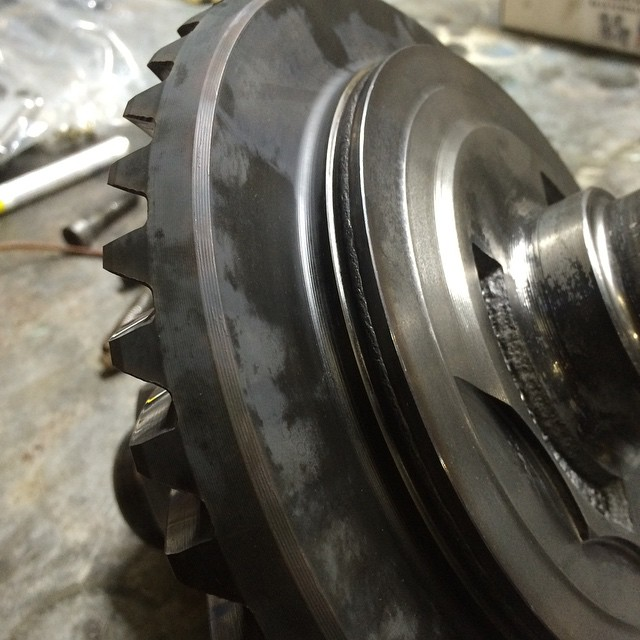 BMW 335is Differential Welded Ring Gear