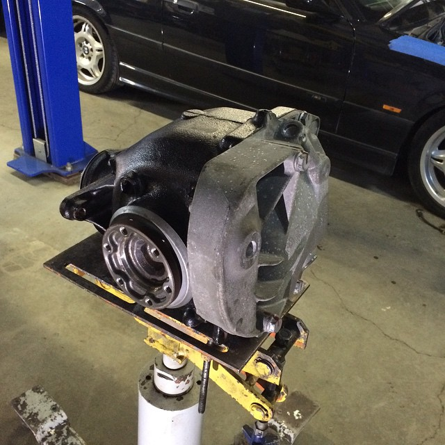 BMW 335is Wavetrac LSD Installed Into Differential Case