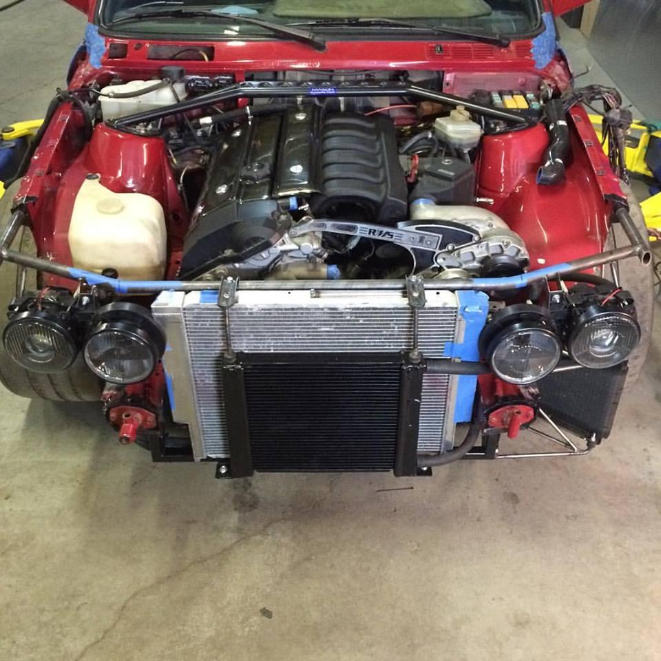 E30 Tube Frame Front End Total Motor Werkes